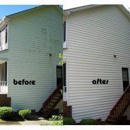 Before & After Residential Vinyl Siding